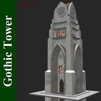 lwo gothic tower
