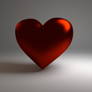 3ds max heart