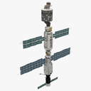 International Space Station ISS 2000