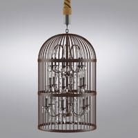 Vintage Birdcage Chandelier X-Large