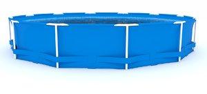 3d model outdoor pool