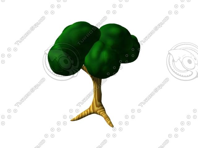 3d tree arbol model