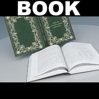 3d max open book