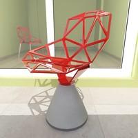 chair concrete base konstantin grcic max