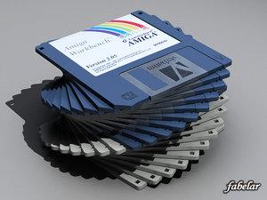 3d floppy disk