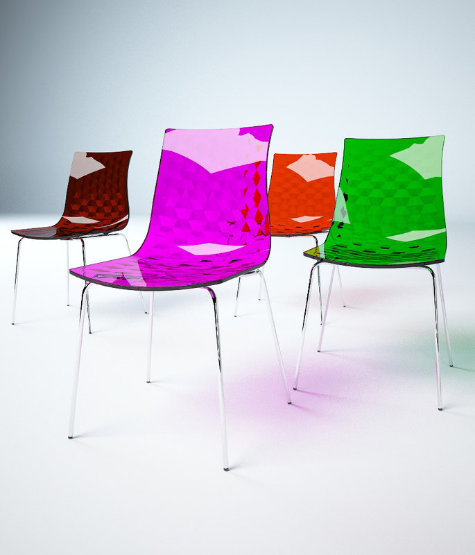 caligaris chair 3ds