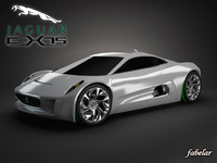 3d c-x75 concept photorealistic model