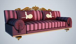 ottoman sofa 3ds