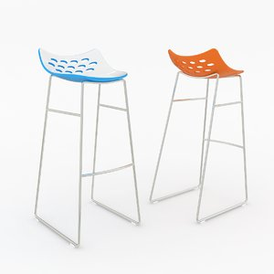 3d calligaris jam bar stool