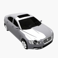 3d xf car luxury