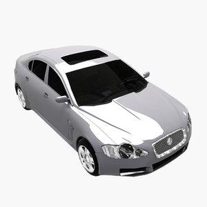3d xf car luxury