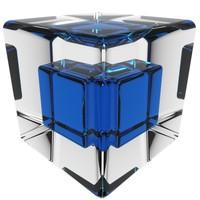 3d model cube loader