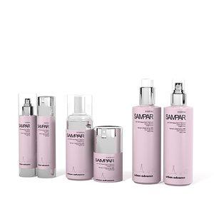 bottle salon beauty 3d model