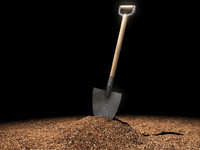 Shovel & soil STD MAT