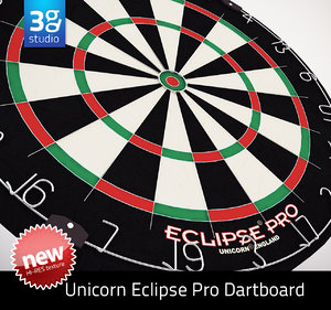unicorn eclipse pro dartboard 3d max