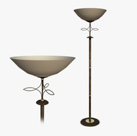 standard lamp interior 3d c4d
