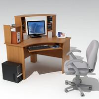 maya computer table