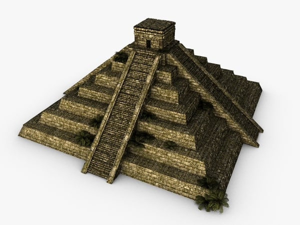 3d ancient pyramid model