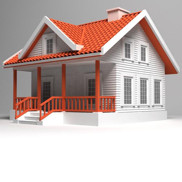 house 20 3d model