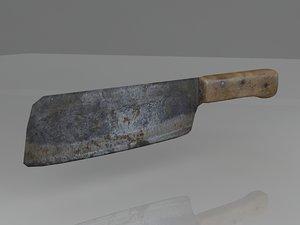 knife meat 3d model