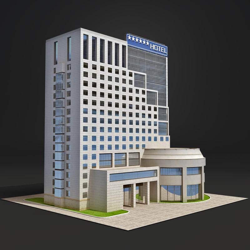 3ds max hangzhou capital star hotel