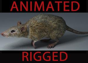 max rat animation