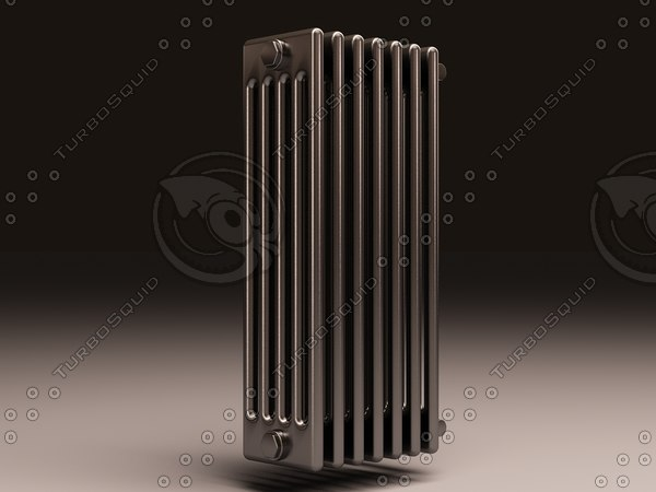 arbonia bank radiator 5 3d max