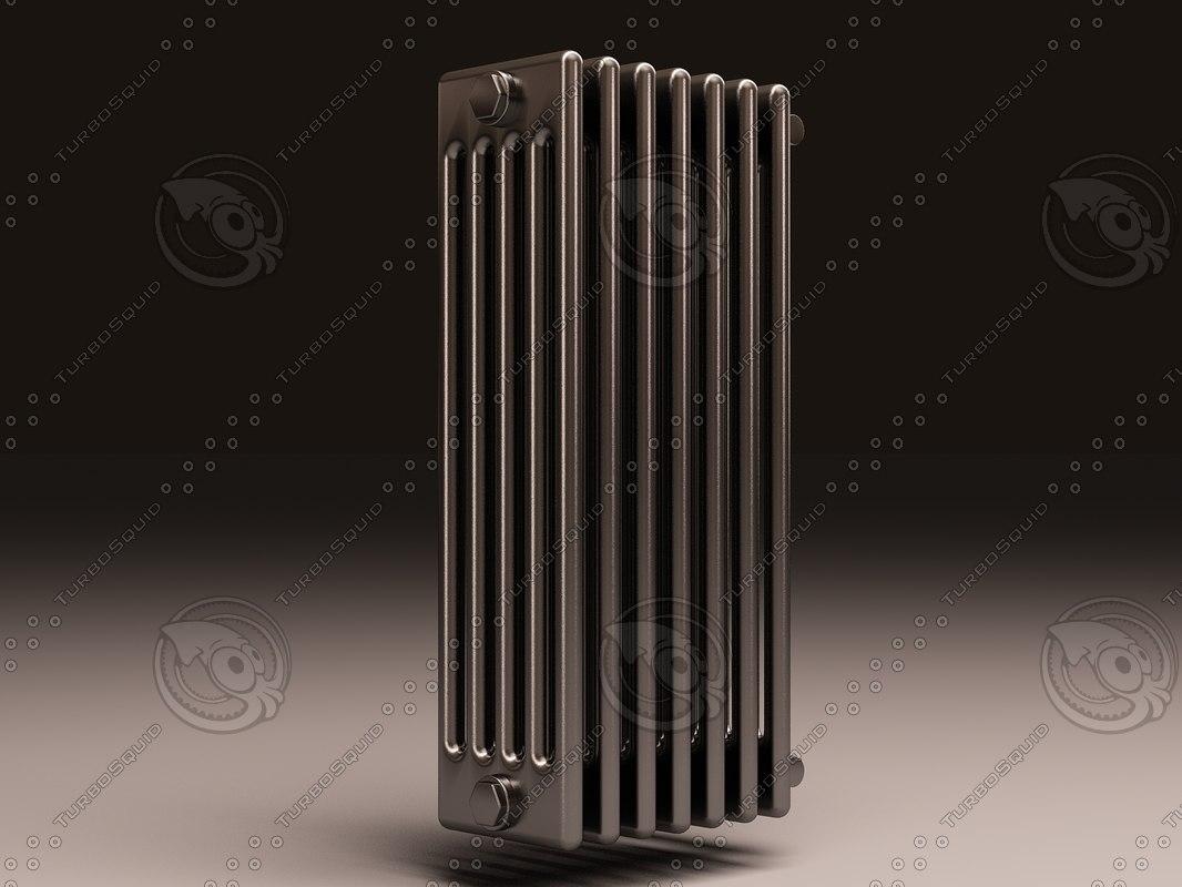 arbonia bank radiator 5 3d max