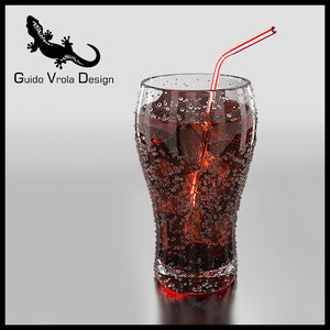 3ds max fresh cola glass ice