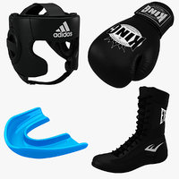 obj boxing equipment