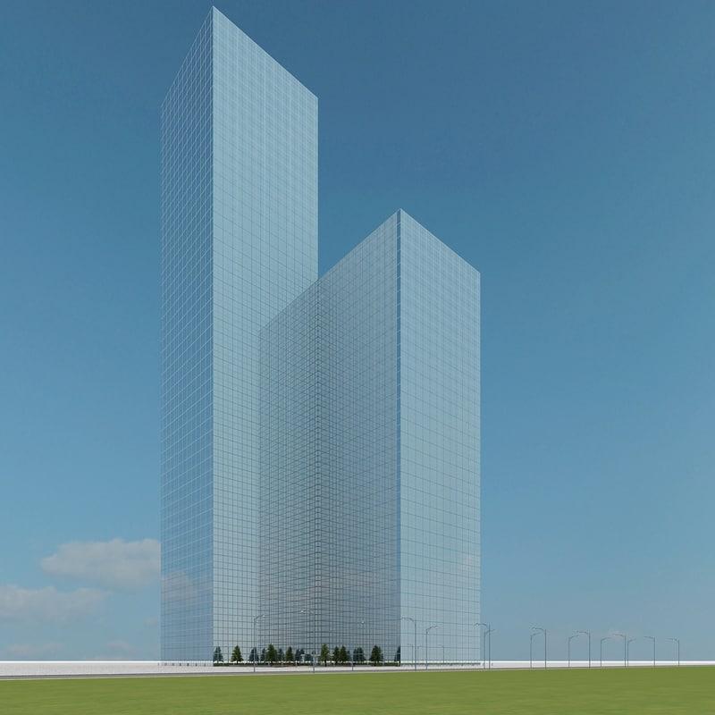 new skyscraper 17 3d model