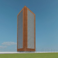3d model new skyscraper 32