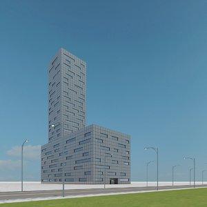 new skyscraper 16 3d max