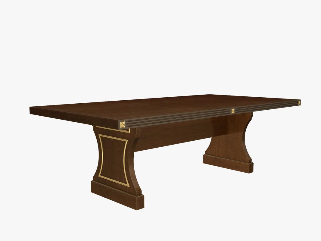 3d desk classic model