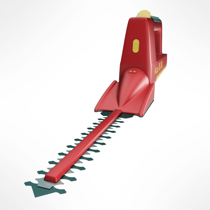 hedge trimming shears 3d model