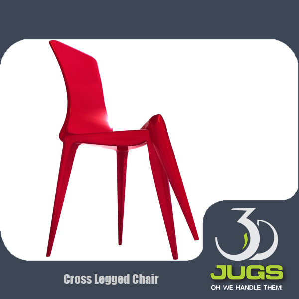 3ds max cross legged chair designer
