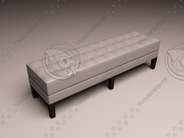 3d model eichholtz bench tribeca