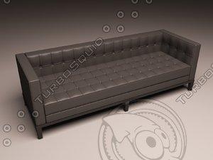 3d model eichholtz sofa corbusier
