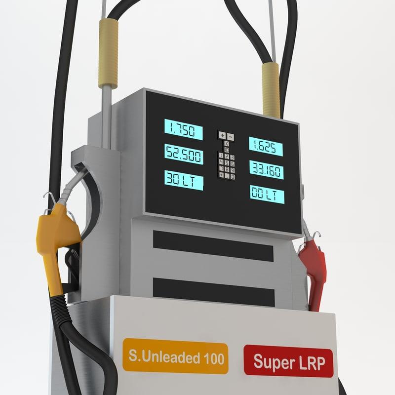 gasoline pump gas stations max