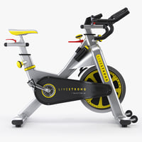 professional exercise bike matrix 3d model