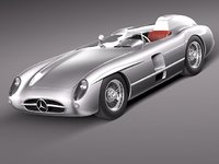Mercedes-Benz 300 SLR 1955 spider