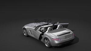 sls roadster 3d model
