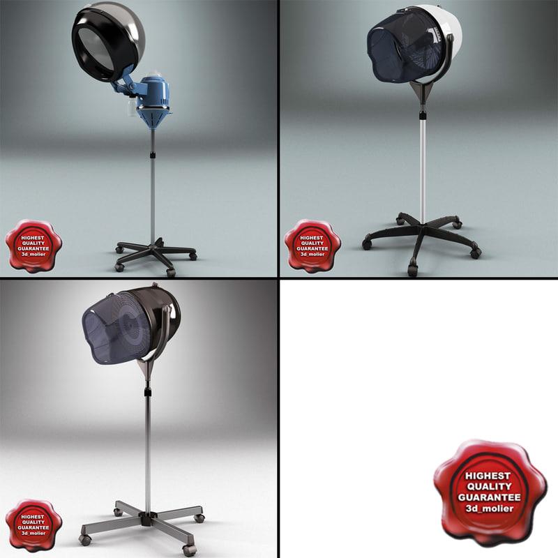 max salon stand hair dryers