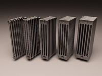 Set of Arbonia Bank Radiator 2,3,4,5,6 columns