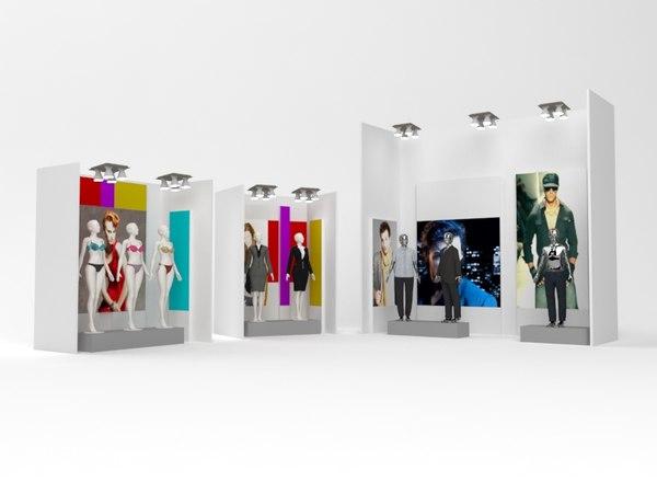 retail asset 3d model