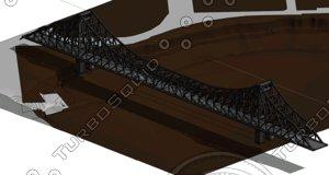 brisbane story bridge 3d dwg
