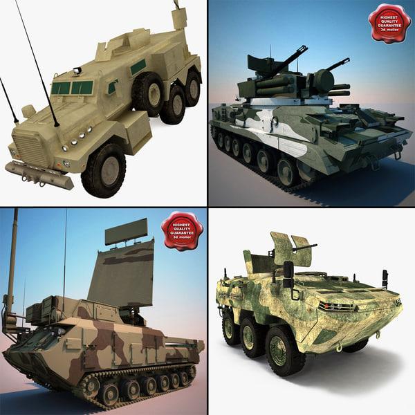 tanks v1 3d max