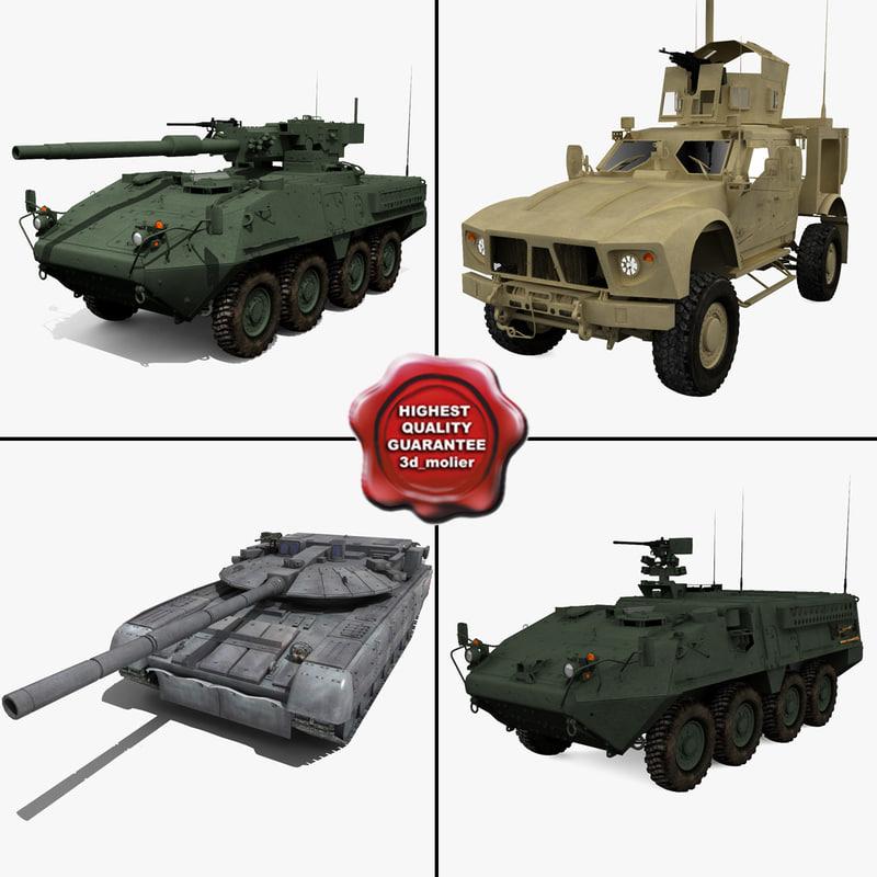 tanks v7 3d model