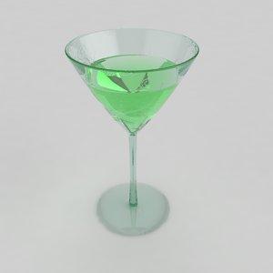glass vodka 3ds