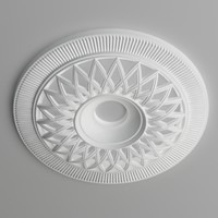 Ceiling medallion007